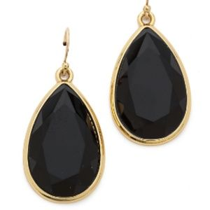 "NWT Kate Spade Black ""Day Tripper"" Earrings"
